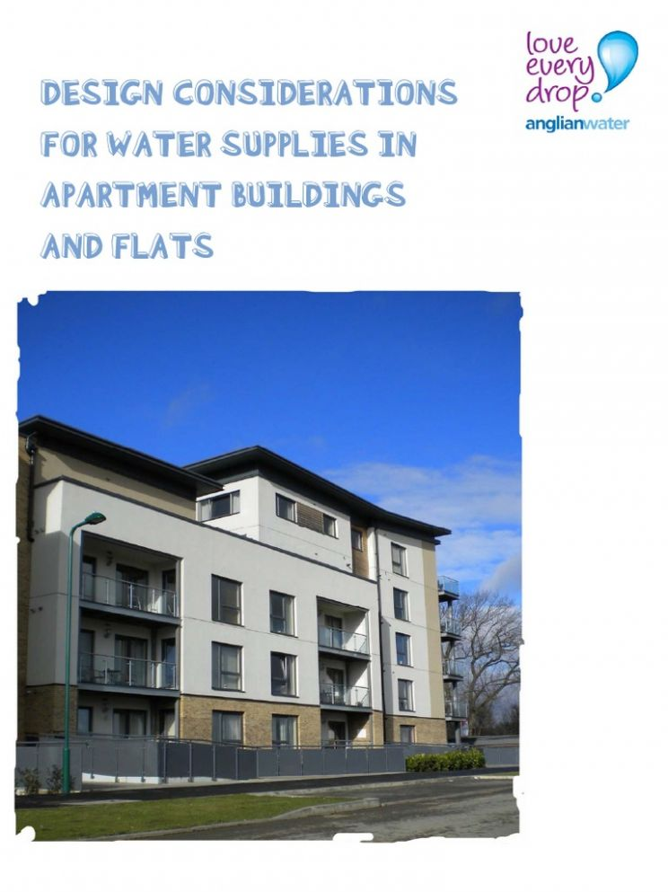 Design Considerations for Water Supplies in Apartment Buildings ..