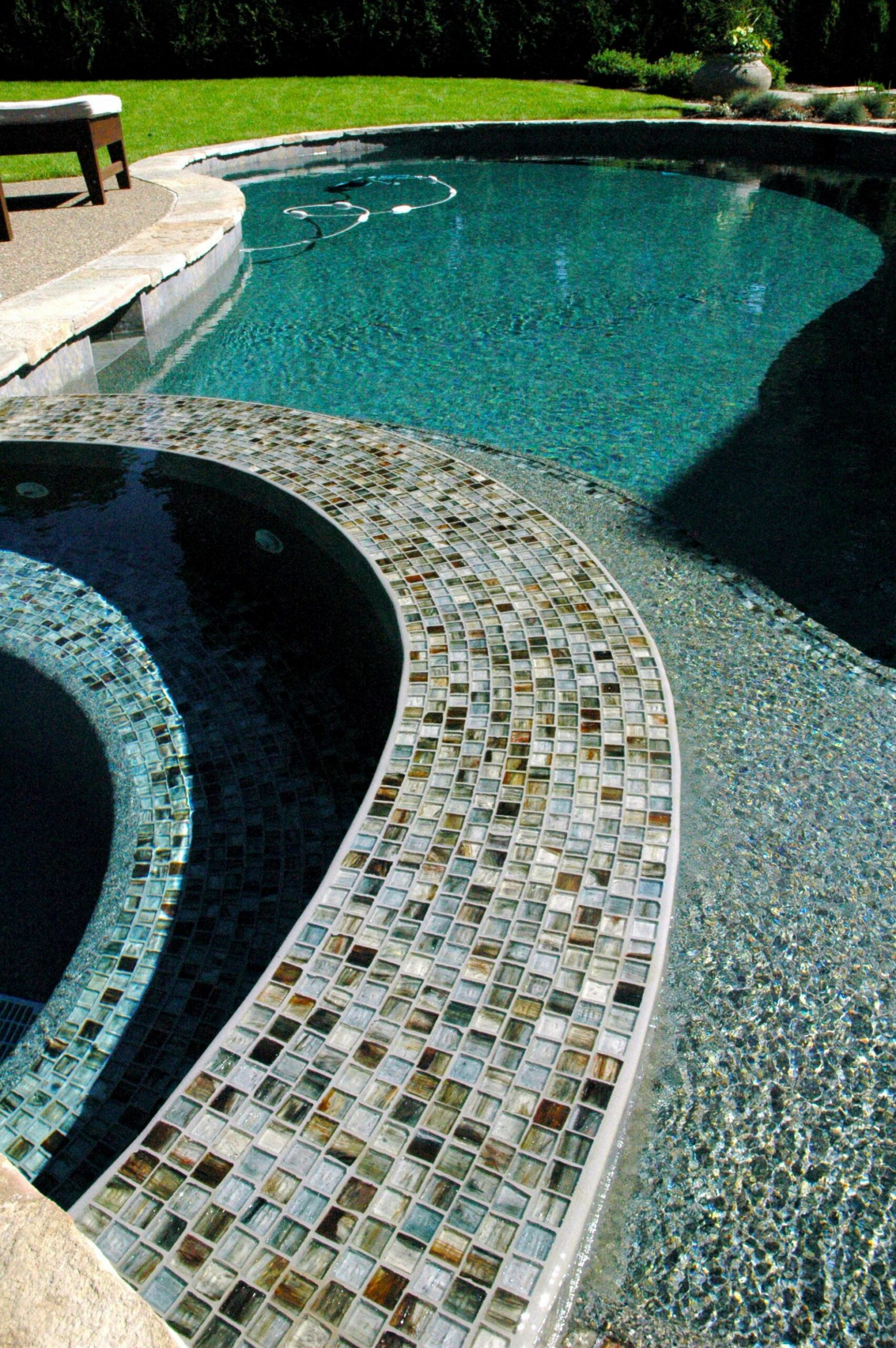DESIGN YOUR DREAM POOL WITH GLASS TILE TODAY AT https://www ...