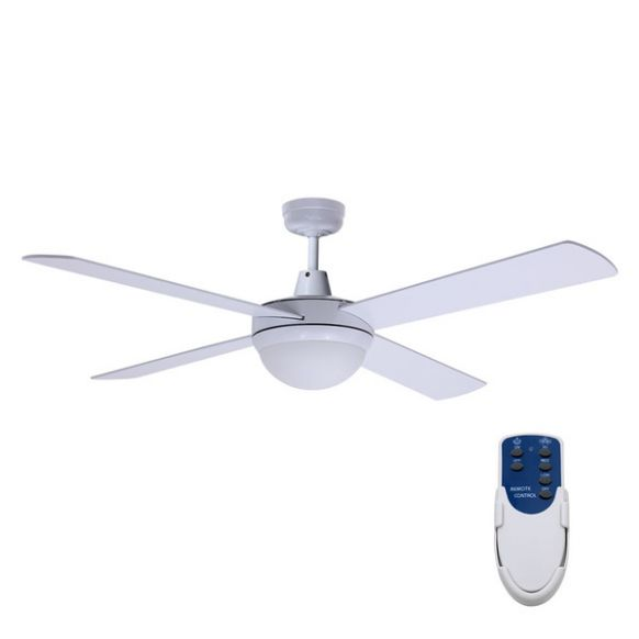 "Devanti 12"" Ceiling Fan - White"