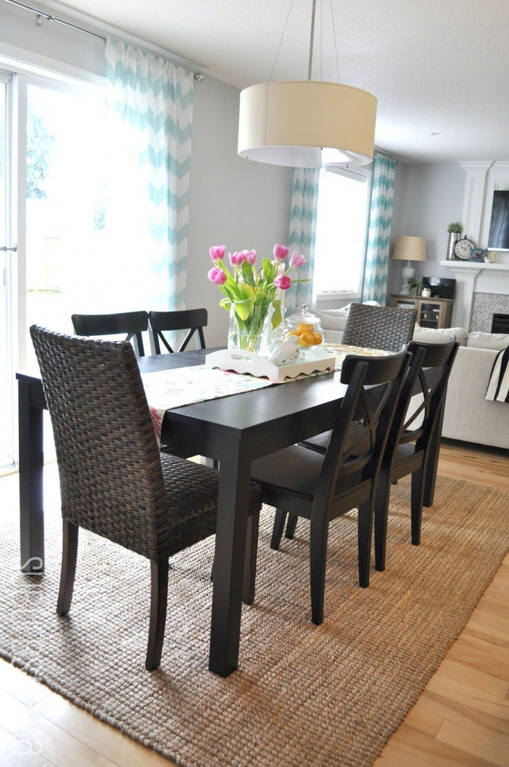 Dining Area (Third times the charm?) | Area rug dining room, Ikea ..