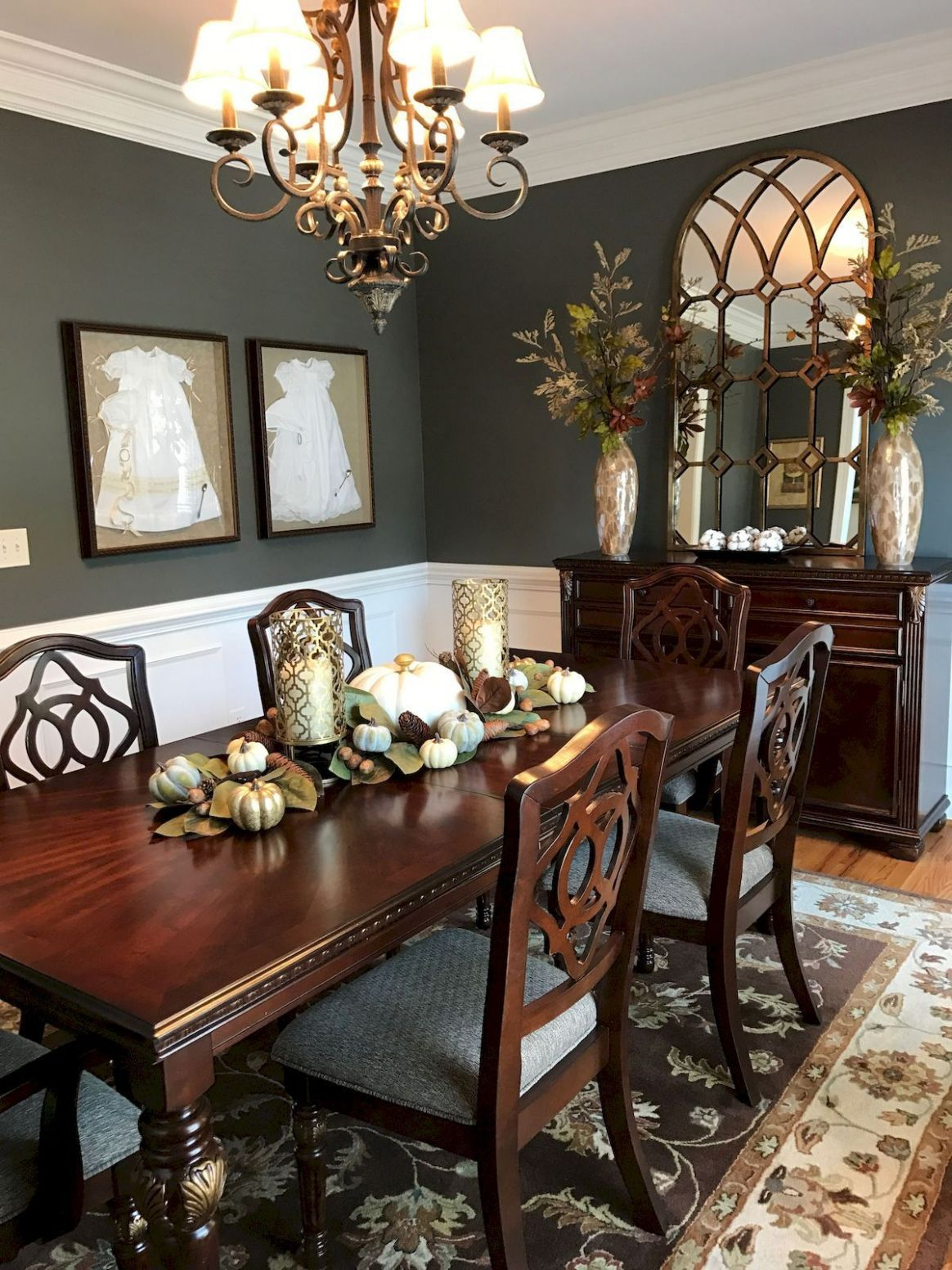 dining area wall design ideas - Punkie