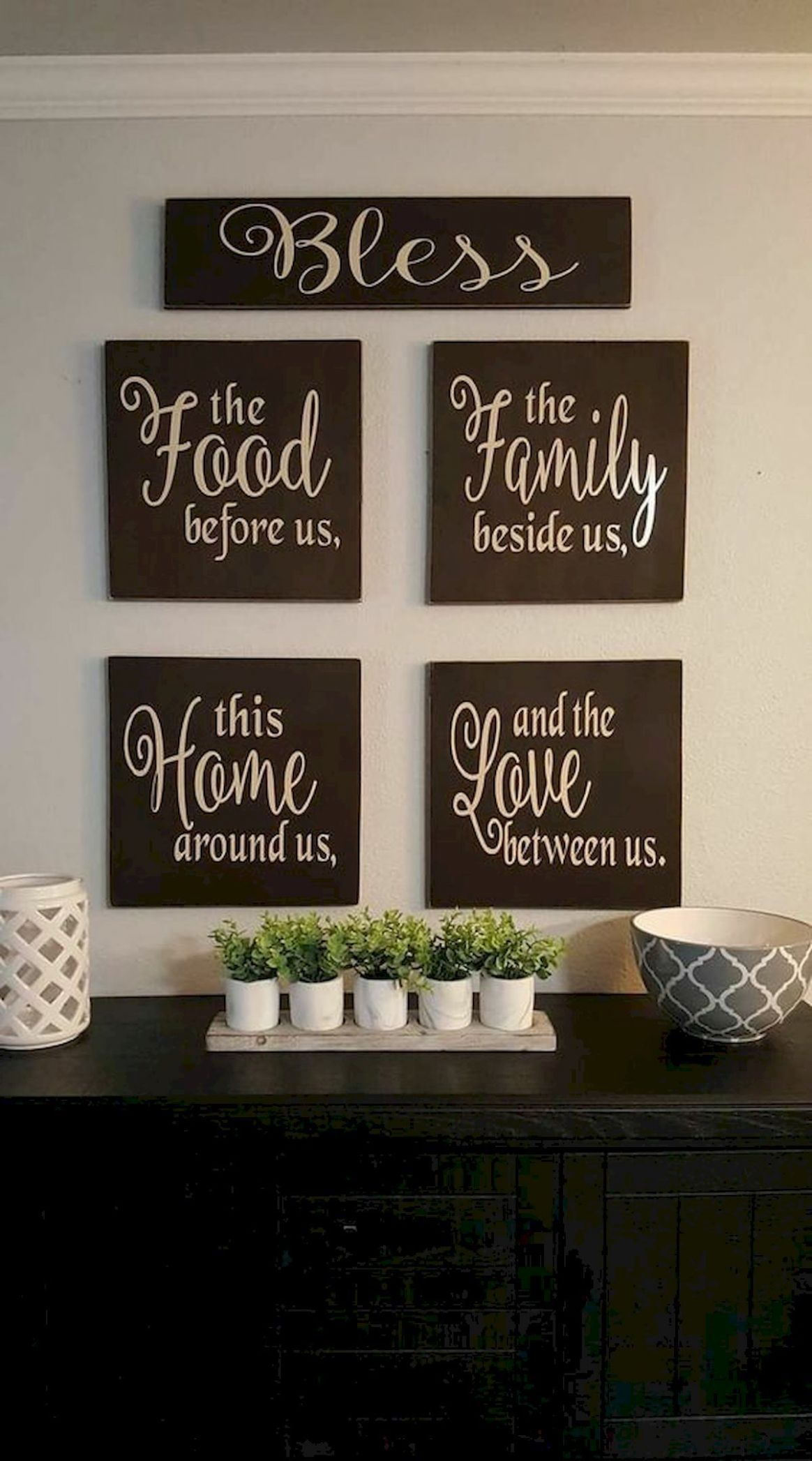 dining room decor diy 10 Easy DIY Pallet Wall Art Ideas ...