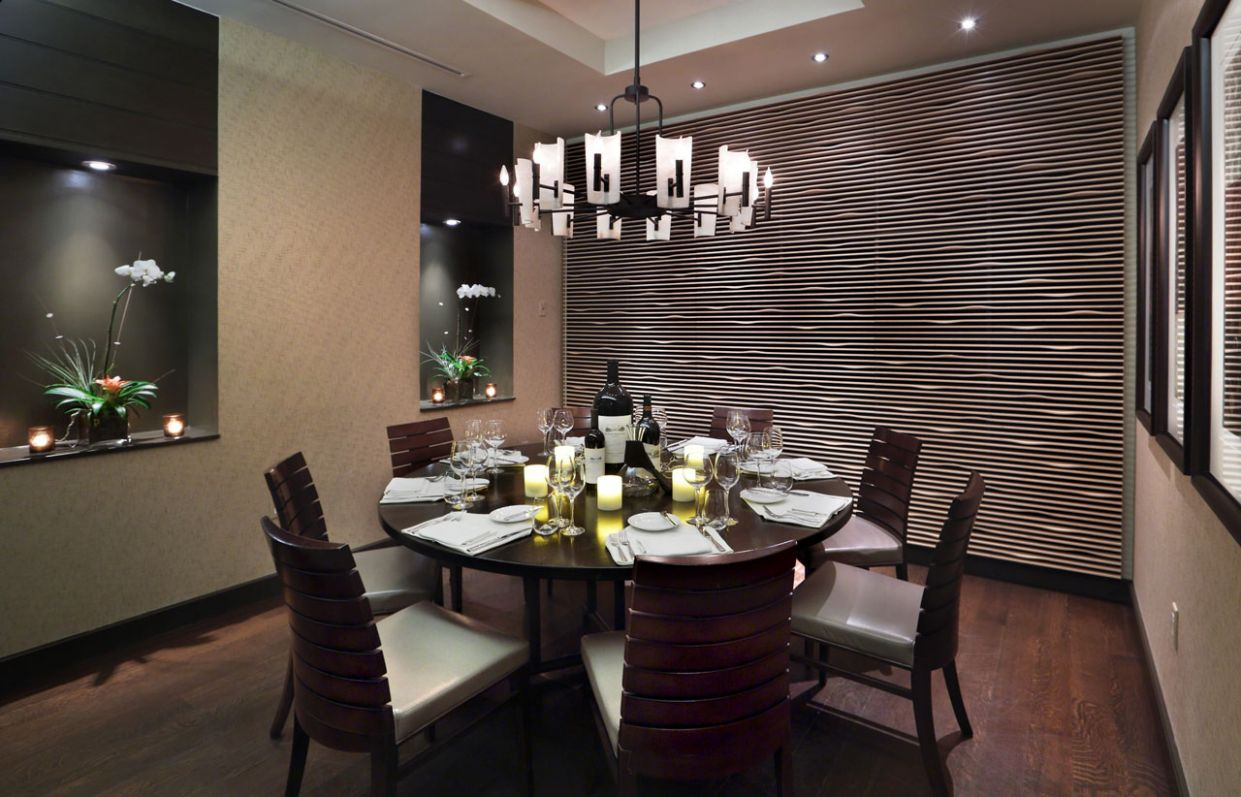 Dining Room Fabulous Dark Small With Large Round Table Mansion ..