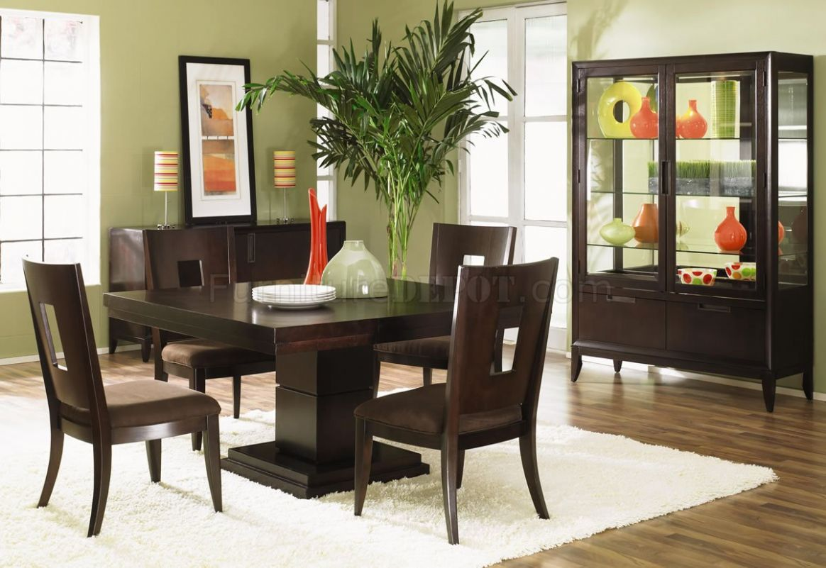 Dining Room Ideas With Dark Wood Furniture | aldystalkerz.blogspot
