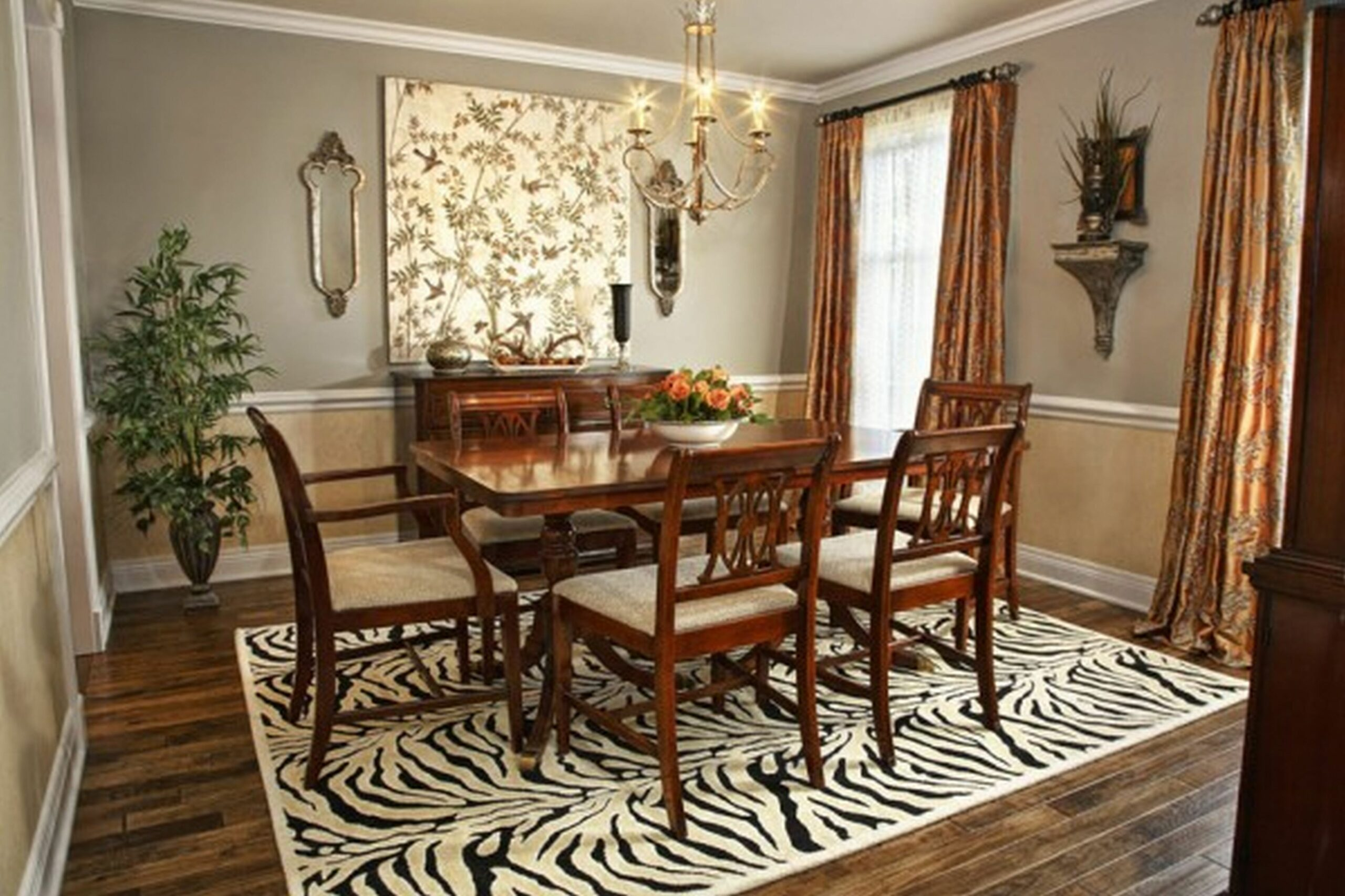 Dining Room Small Living Decorating Tricks Hgtv Simple House Ideas ..