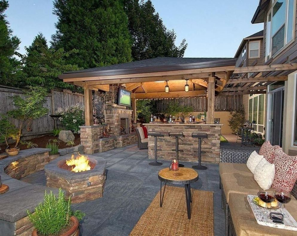 Discover 9 best backyard patio remodel ideas %