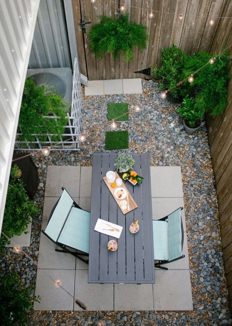 DIY // Before & after of my backyard with Home Depot! | Modern ..