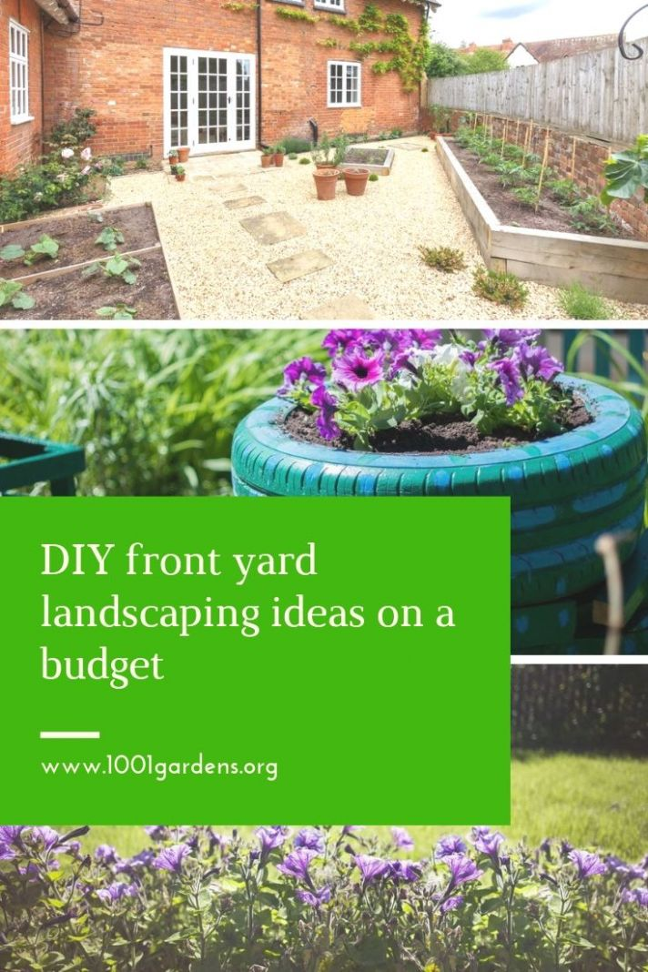 DIY front yard landscaping ideas on a budget - 12 Gardens - garden ideas on a budget photos