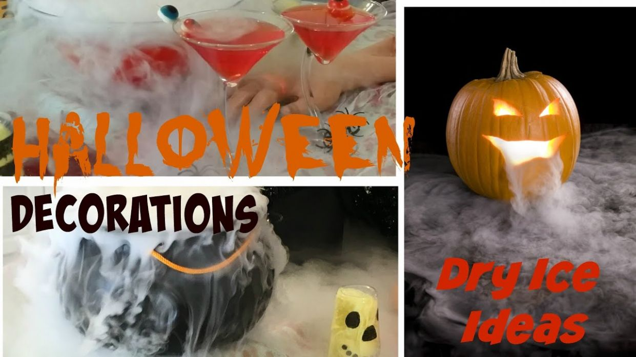 DIY Halloween Party Decoration Ideas - Dry Ice Tutorial - halloween ideas using dry ice