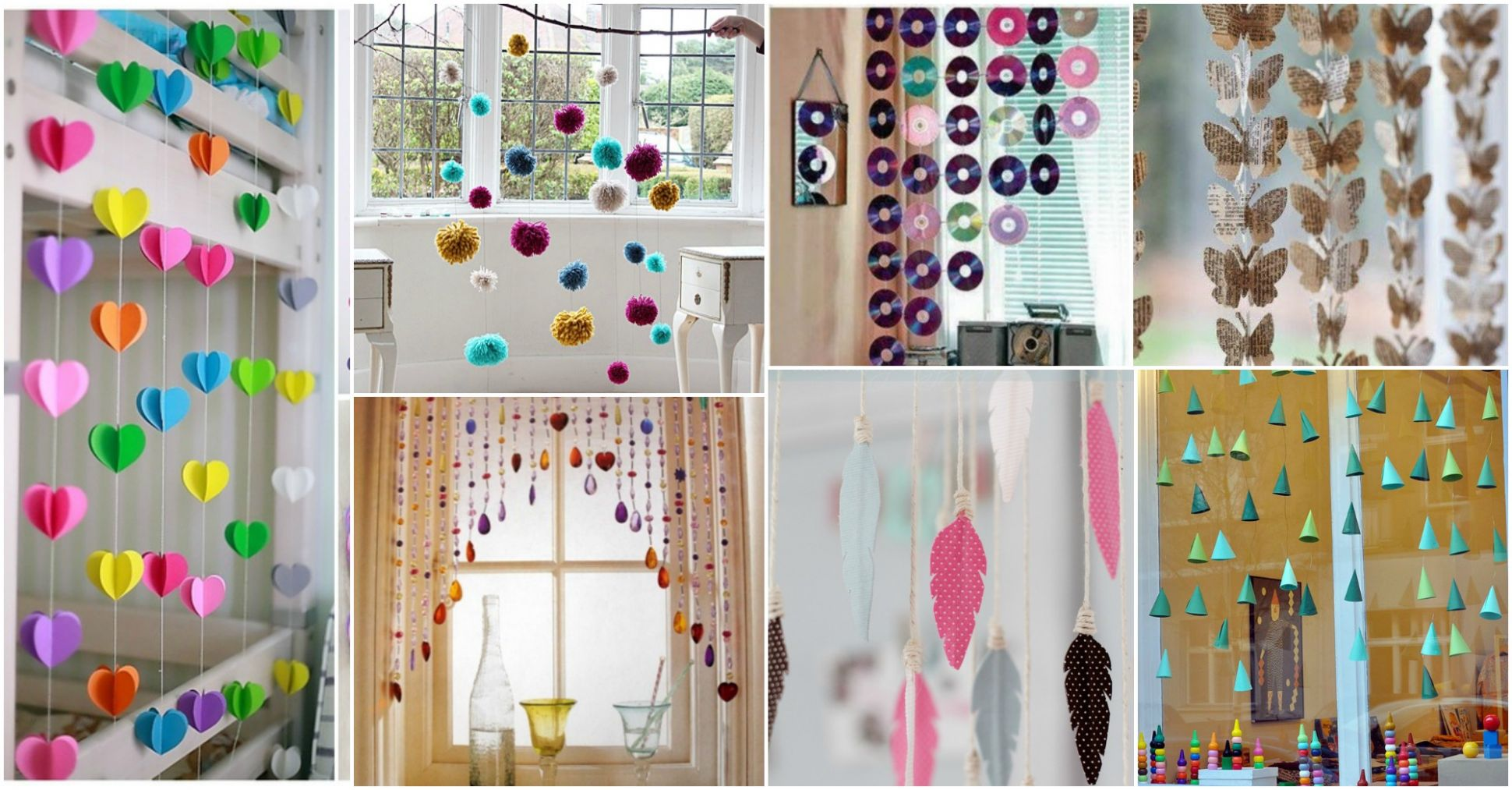 DIY Hanging Window Decorations That Will Brighten Up Your Day - window hanging ideas