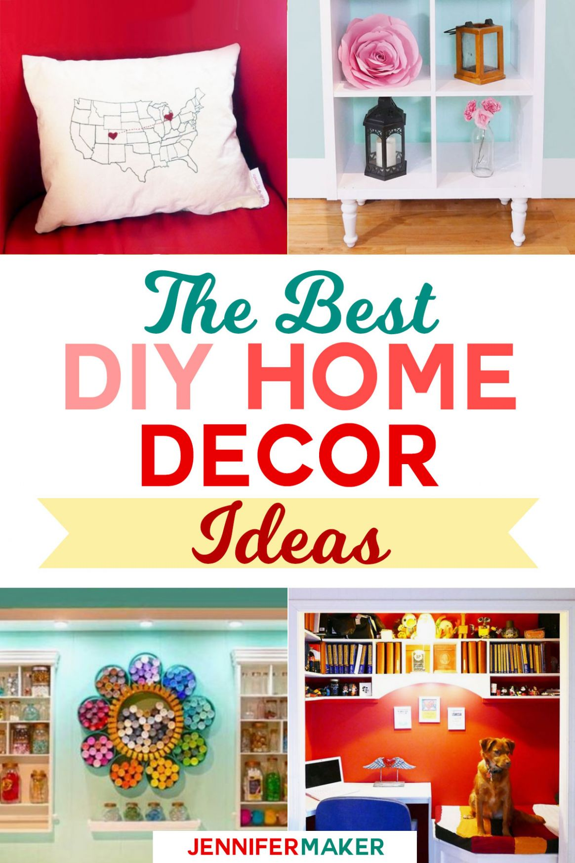 DIY Home Decor: My Favorite Projects and Ideas - Jennifer Maker - diy home decor tutorials