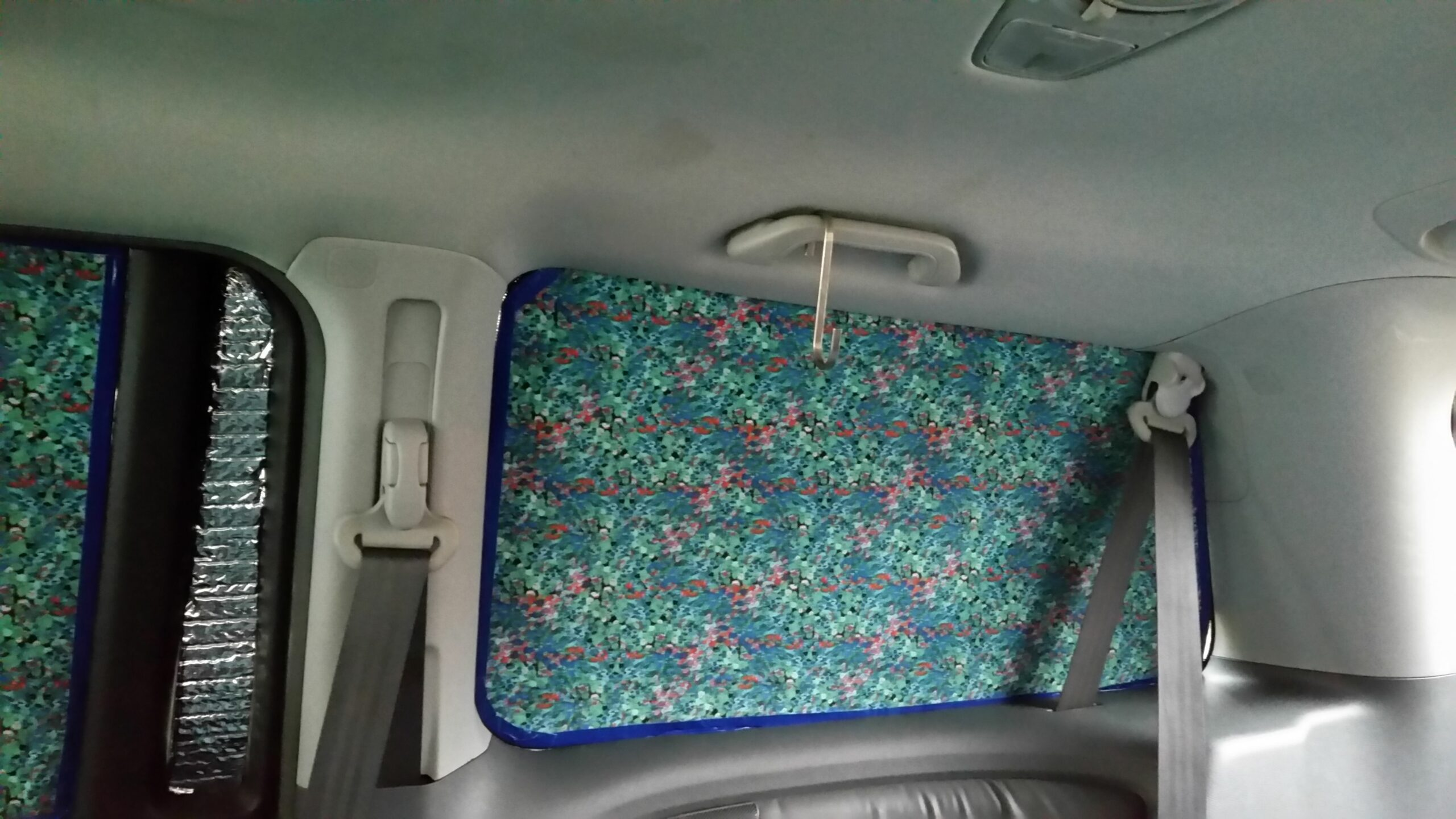 DIY Insulated Van Window Coverings - The Bright Places - window insulation ideas