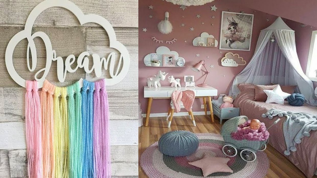 DIY Room Decor! 11 DIY Room Decorating Ideas for Teenagers (DIY Wall Decor,  Pillows, etc