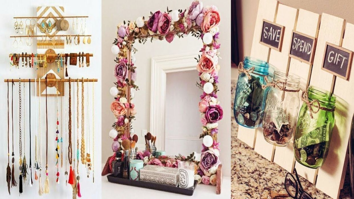 DIY ROOM DECOR! 11 Easy Craft Ideas at Home for Teenagers - New ..