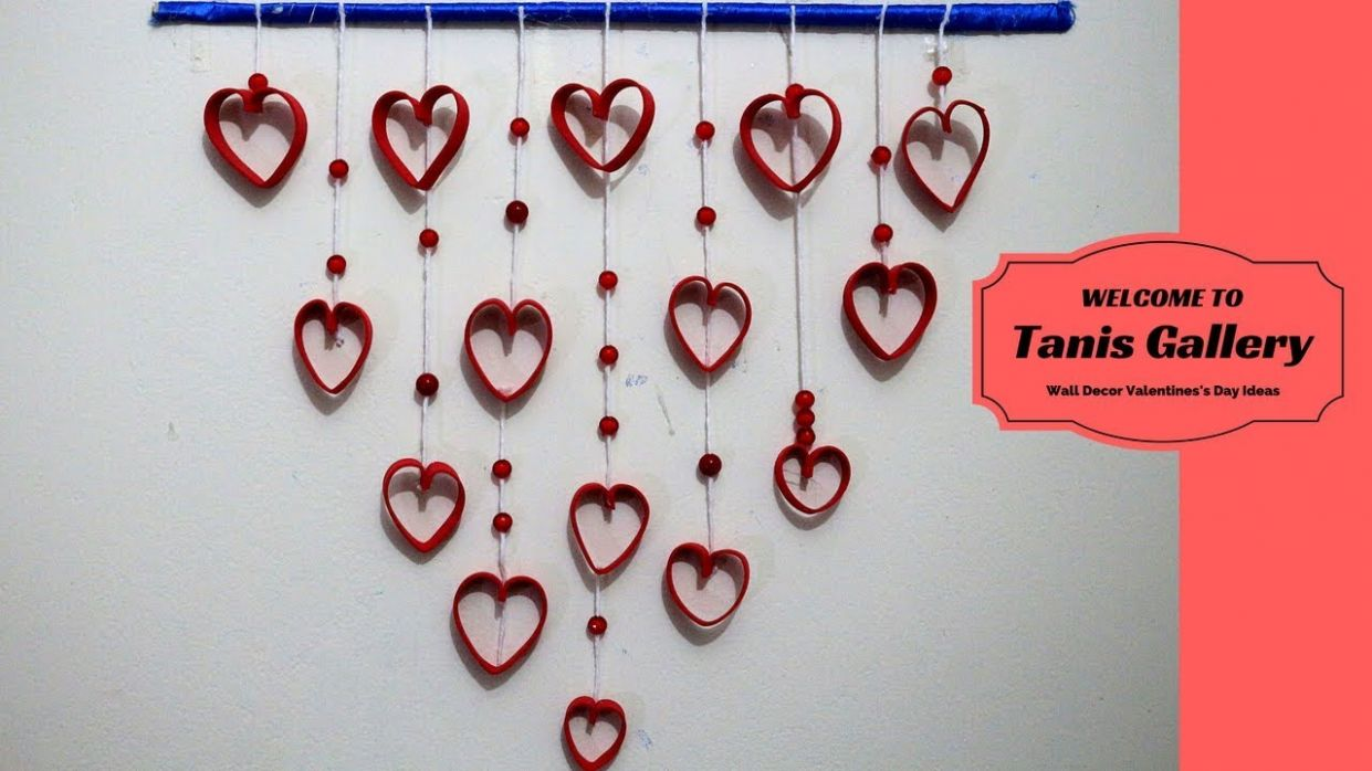 DIY Wall Decor Valentines's Day Ideas – Romantic decorating ideas for  valentines day
