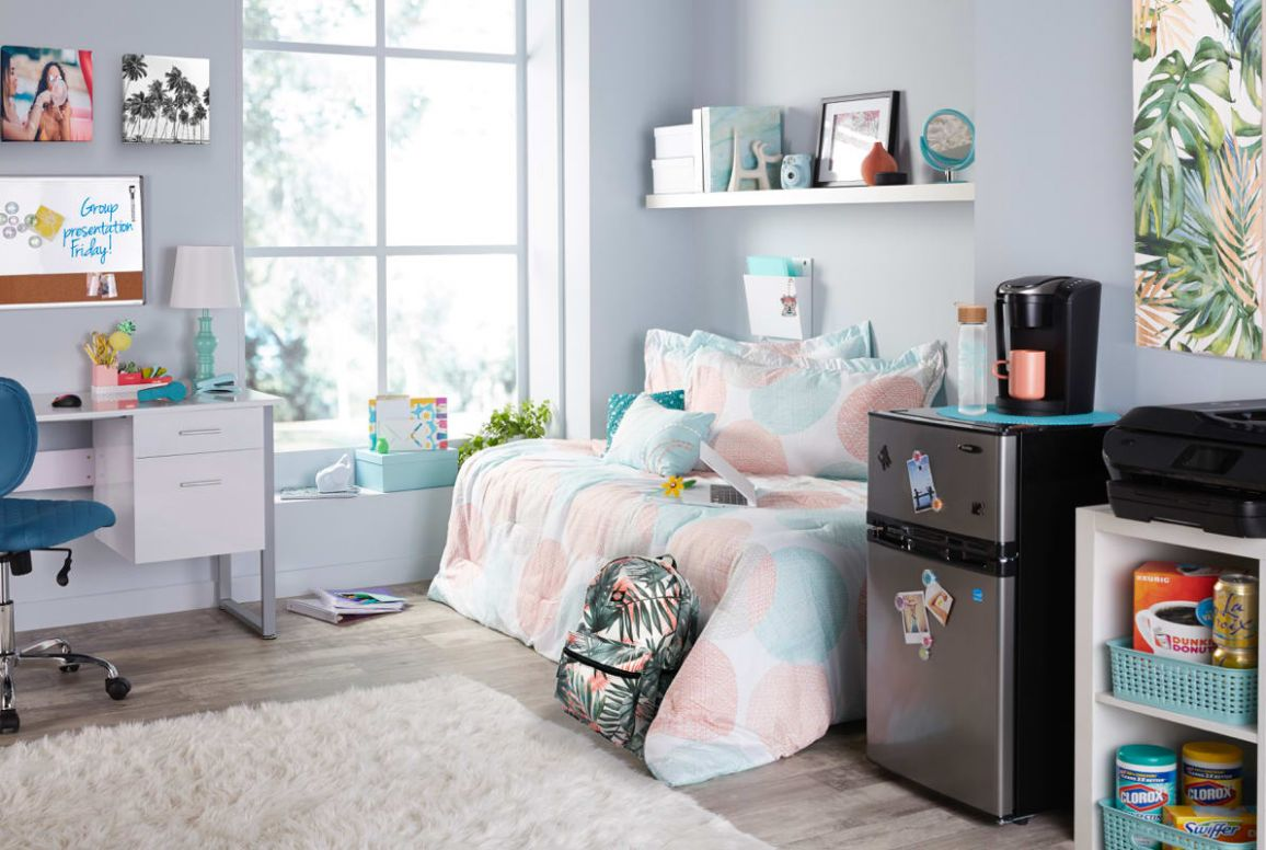 Dorm Room Ideas & Back to School Styles - dorm room design and decor unit