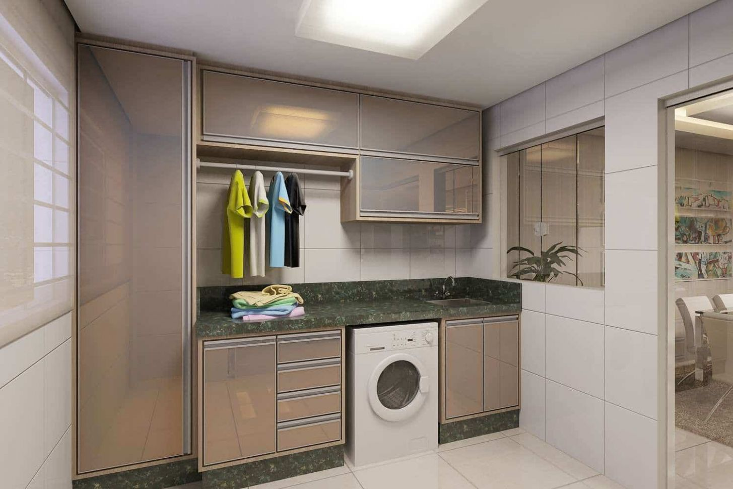 Drab To Fab: Give Your Utility Room A Makeover With These Design Ideas - laundry room ideas india