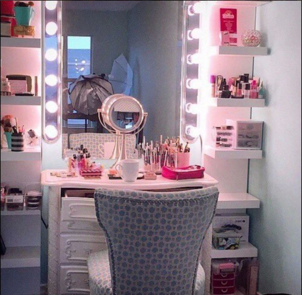 dream room, goals, makeup and room - image #12 on Favim.com