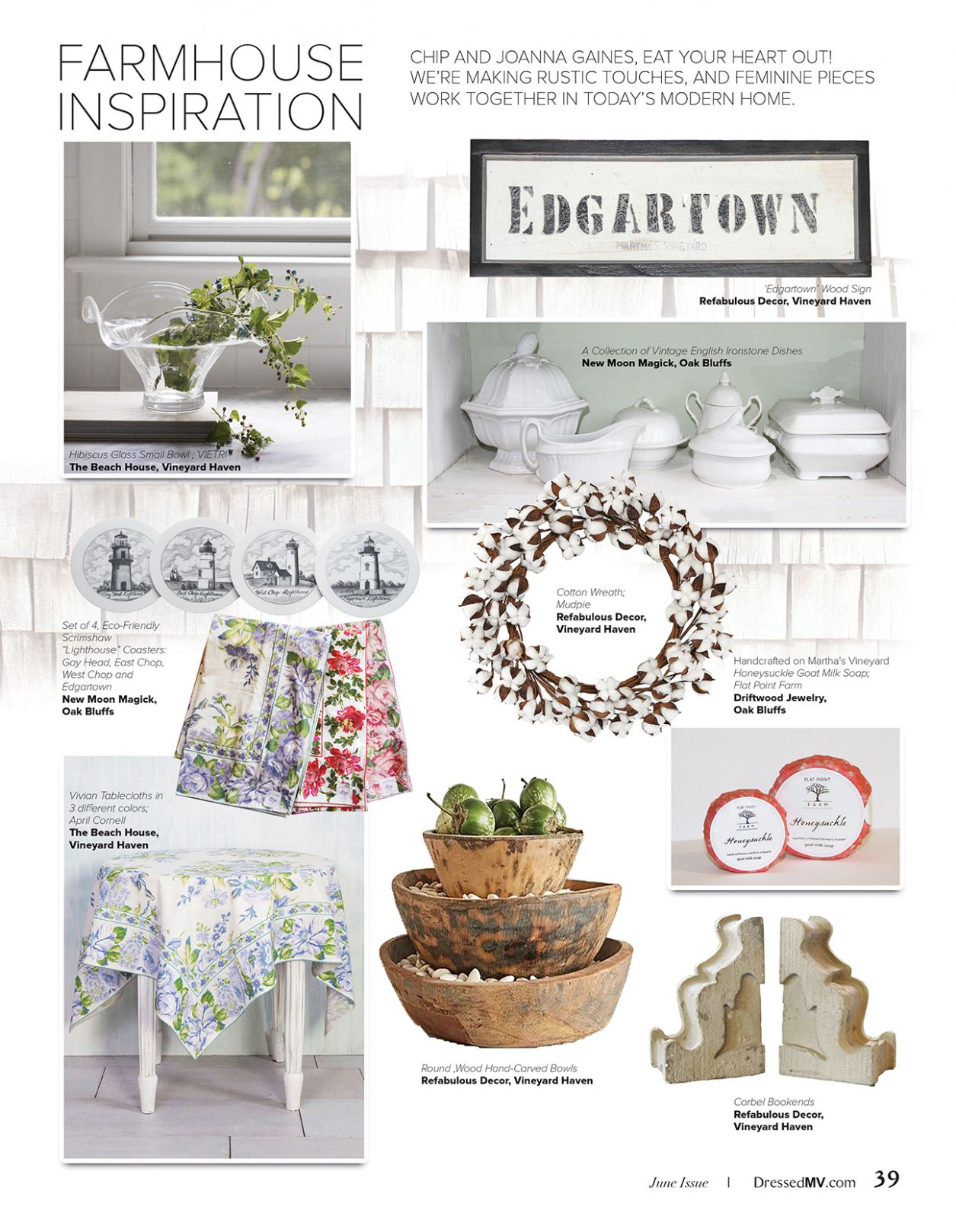 Dressed MV » Fashion | Style | Home » FARMHOUSE INSPIRATION - inspiration haven house