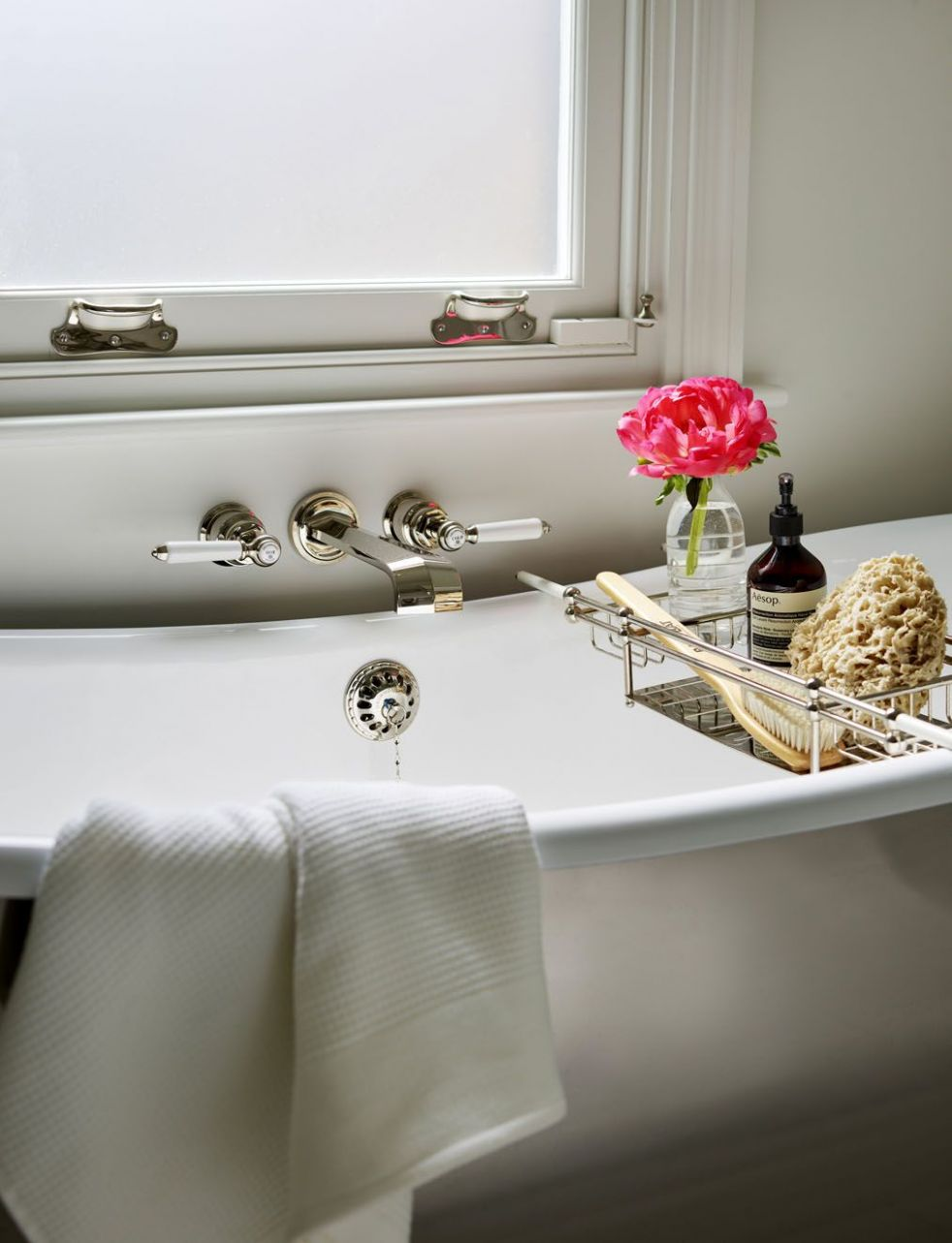 Drummonds' magnificent freestanding cast iron Usk bath and ...