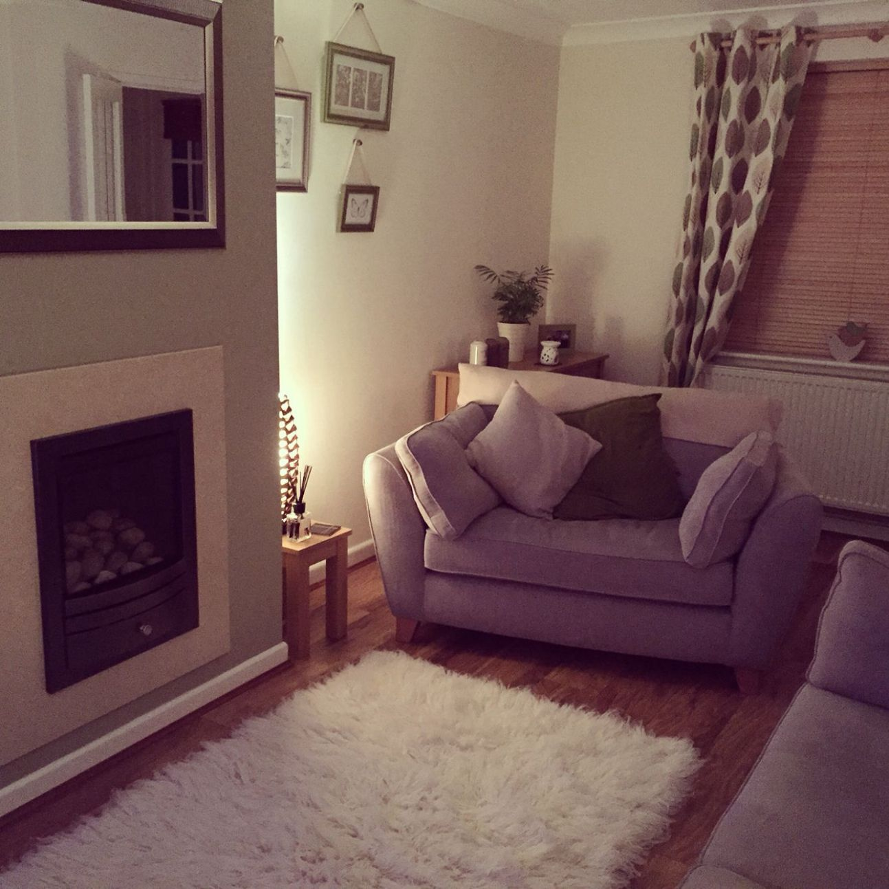 Dulux overtly olive living room. Green Cosy Homely Next home ..
