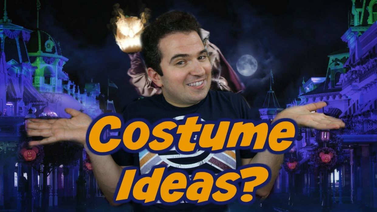 Early Costume Ideas for Mickey's Not So Scary Halloween Party 9