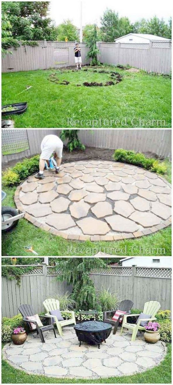 Easy And Simple Landscaping Ideas and Garden Designs Drawing Cheap ..