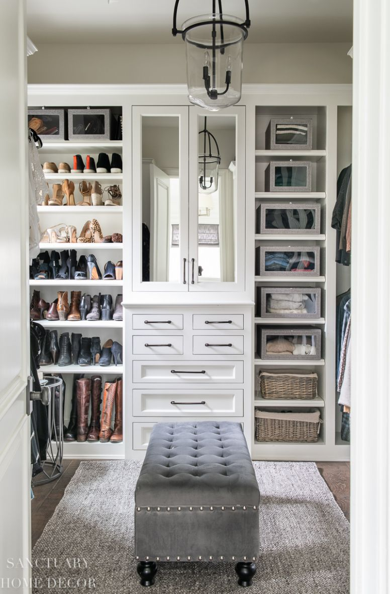 Easy DIY Closet Organizing Ideas - Sanctuary Home Decor - closet arrangement ideas