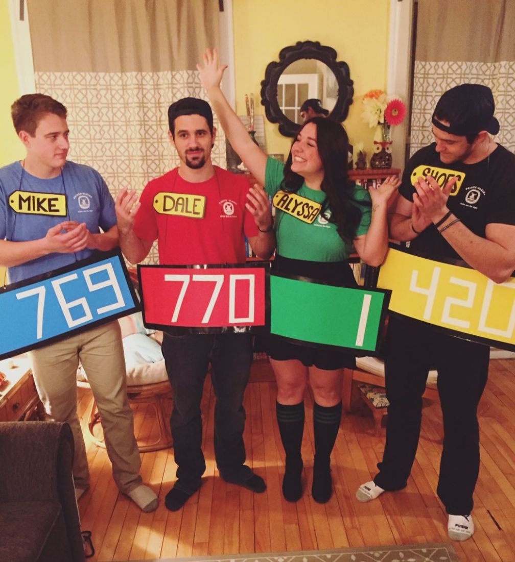 Easy DIY Price is Right group costume! | Halloween costumes for ..
