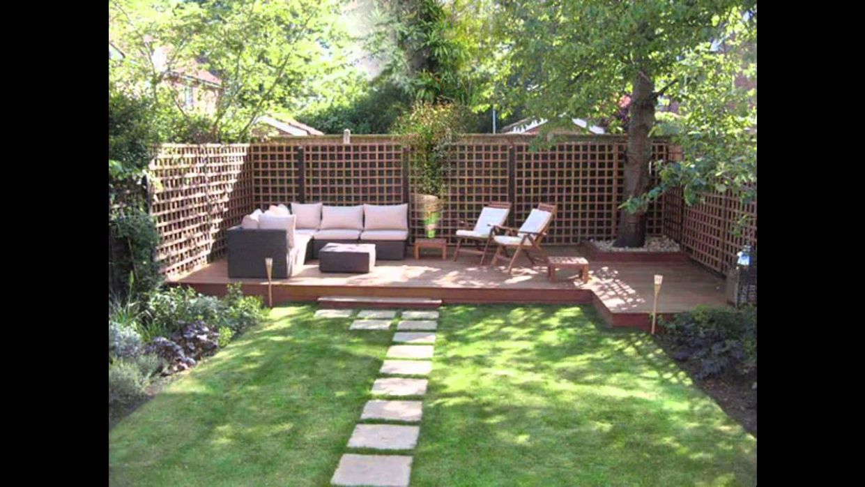 Easy Low maintenance garden design ideas