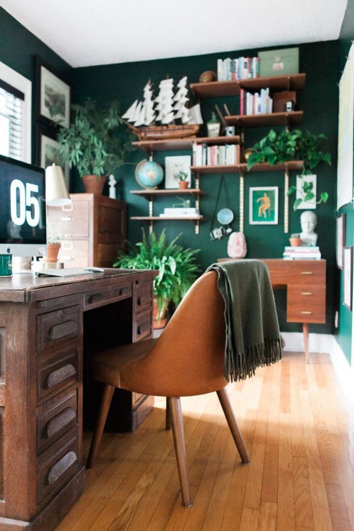 Eclectic Home Tour・Summer 12 | Home office furniture, Home ...