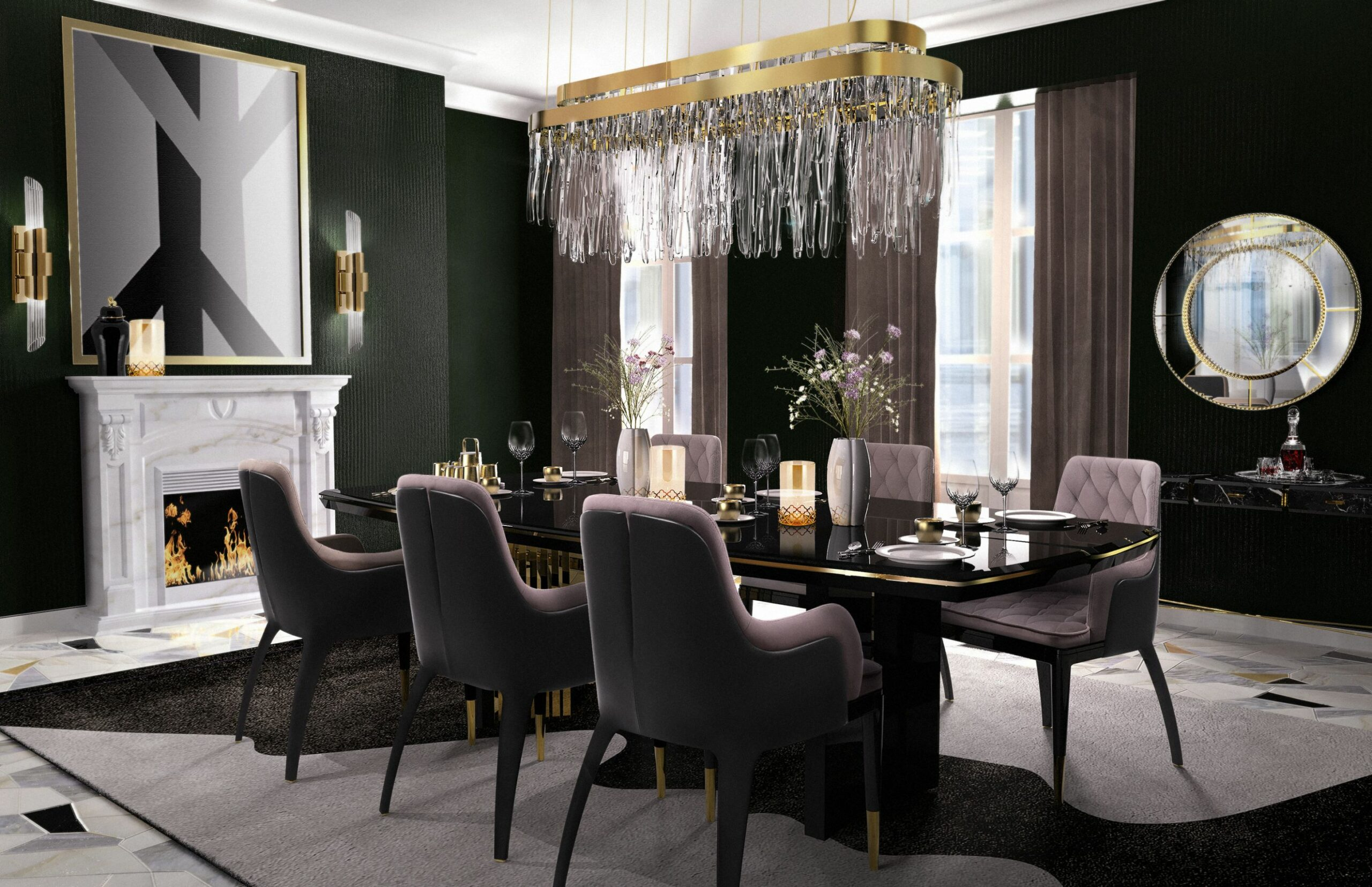 Elegant Dining Room Ideas You Have To Use this Fall - dining room ideas pictures