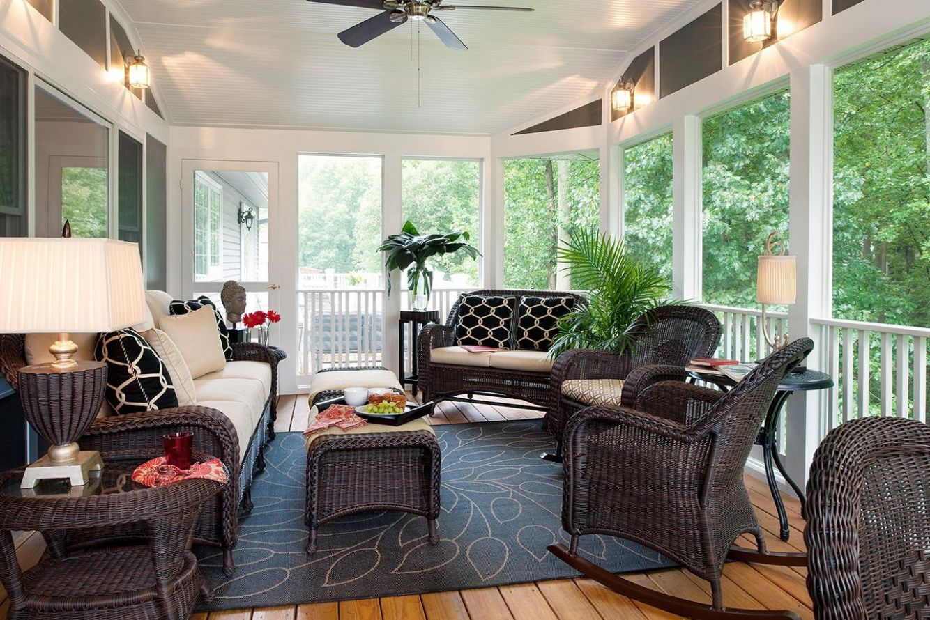 Enclosed Patio Ideas On A Budget All In Home Decor Small Semi ..