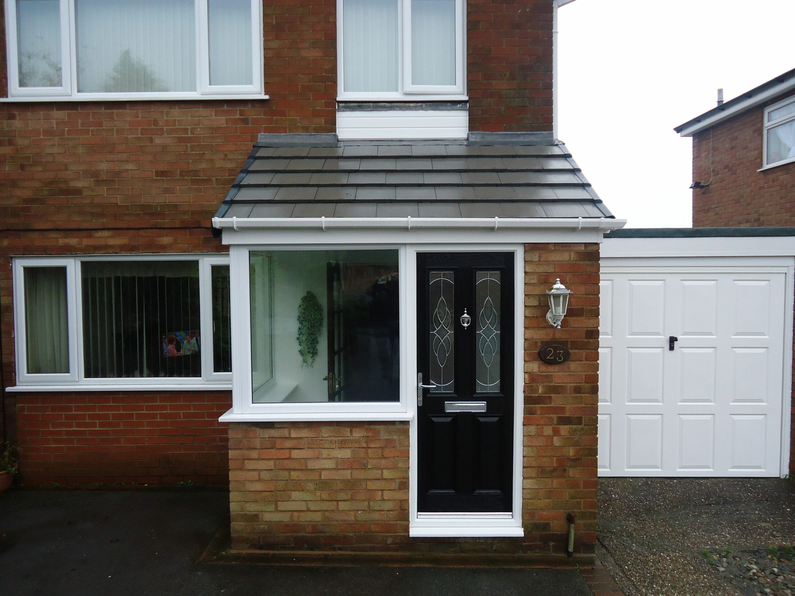 extensions to the front of small house uk - Google Search | Porch ..