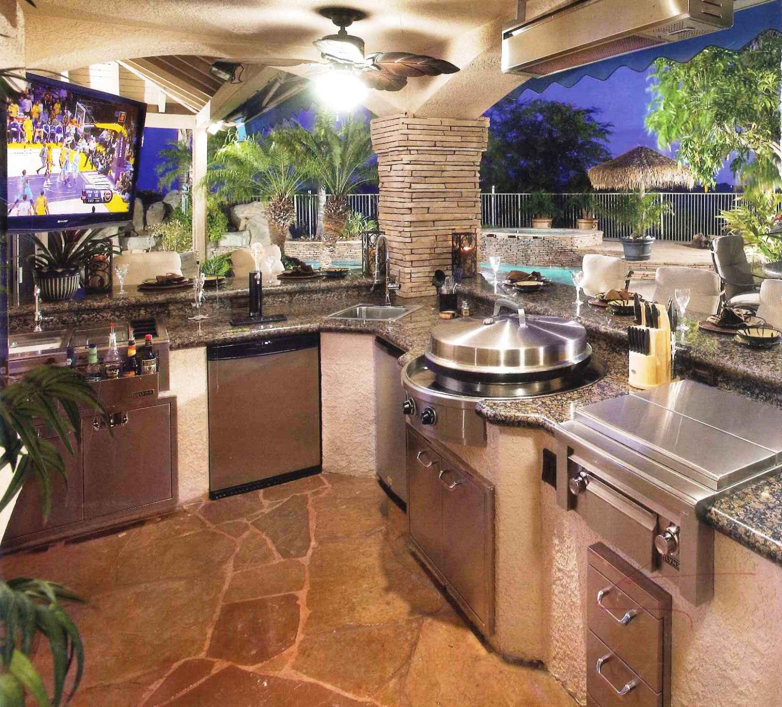 Exteriors : Outdoor Kitchen Cabinets Design Ideas You Like For ..