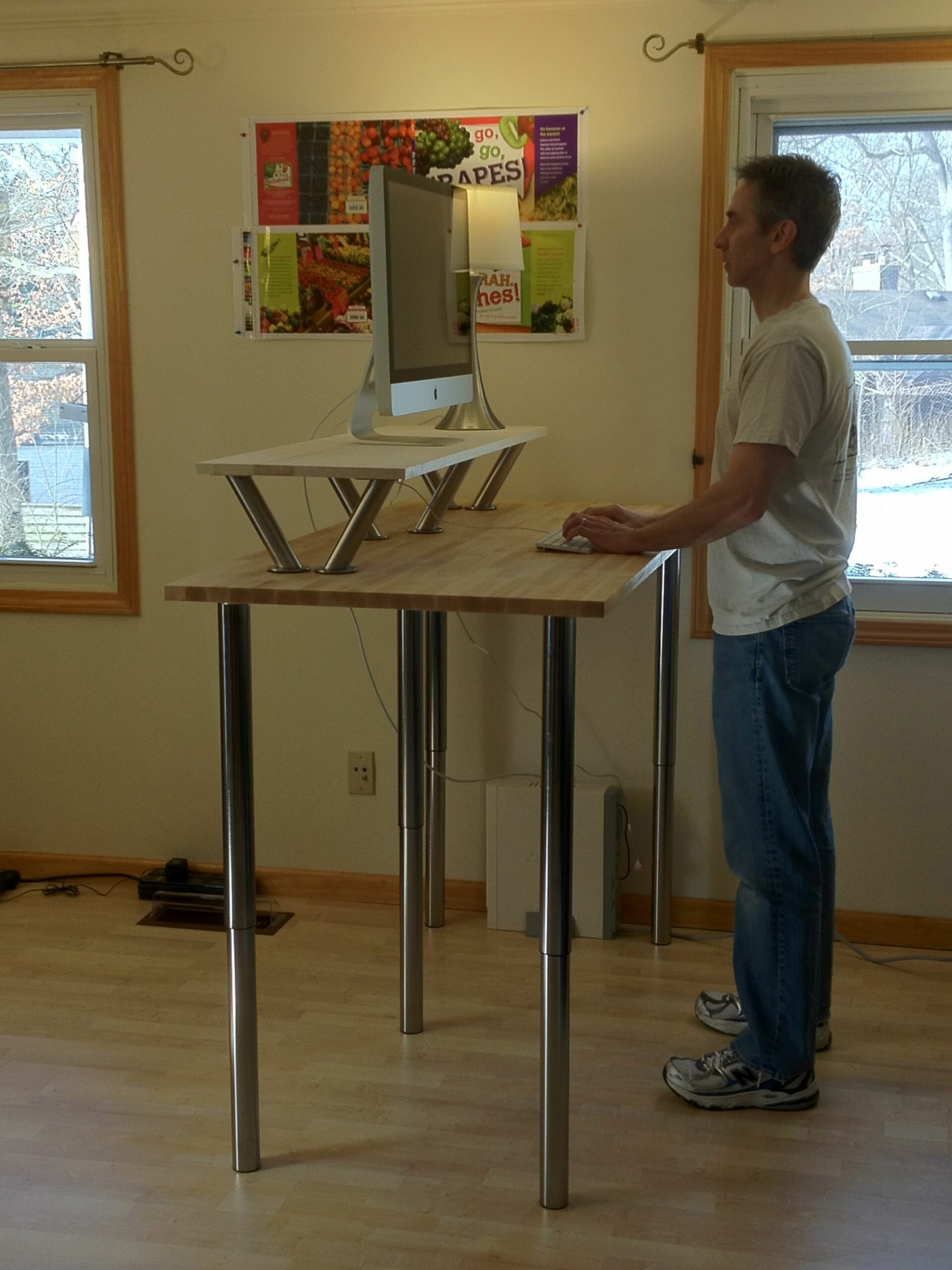 Fabulous Staples Stand Up Desk The Best Standing Desks For Your ..