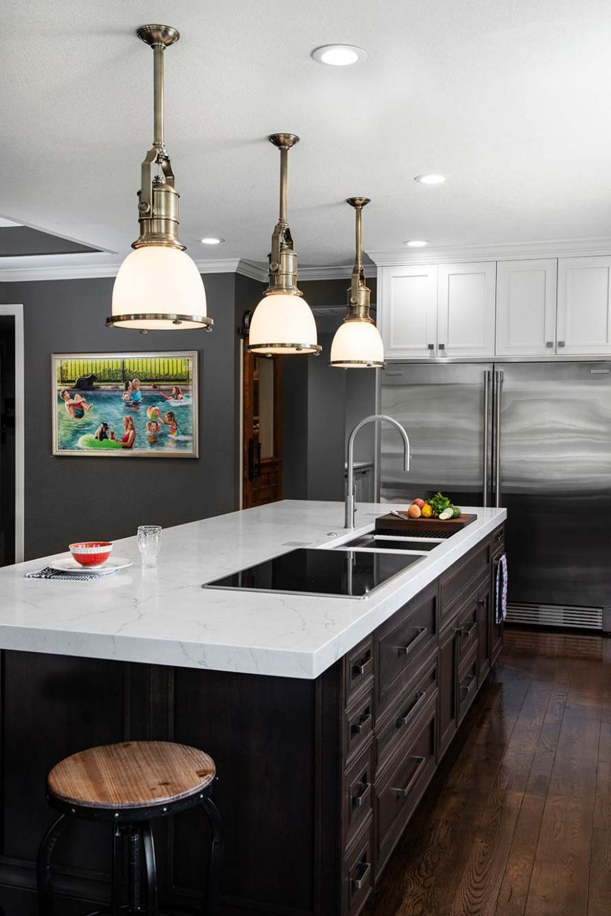 Family Fun Beautiful Transitional Kitchen Remodel | Kitchen Ideas, LLC