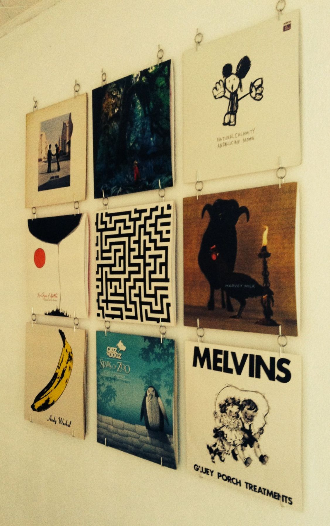 Favorite Record wall, DIY, for the Home Living | Record wall decor ..