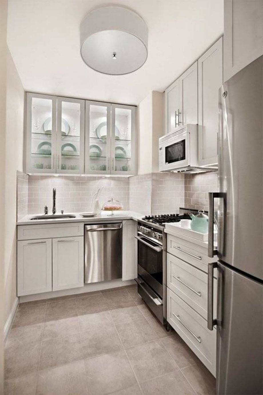 Find and save ideas about Small l shaped kitchens on Pinterest ...