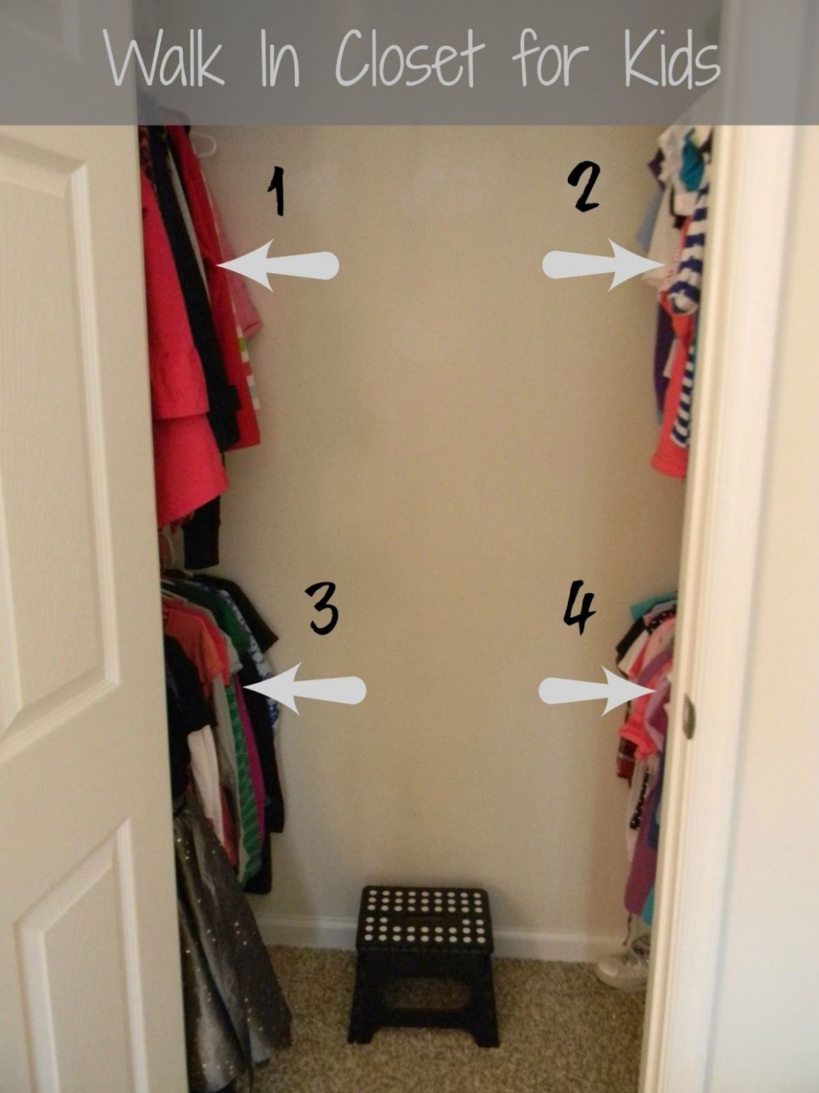 FINISHED*** Convert The Kid and Spare Room Closets Into Walk In ..