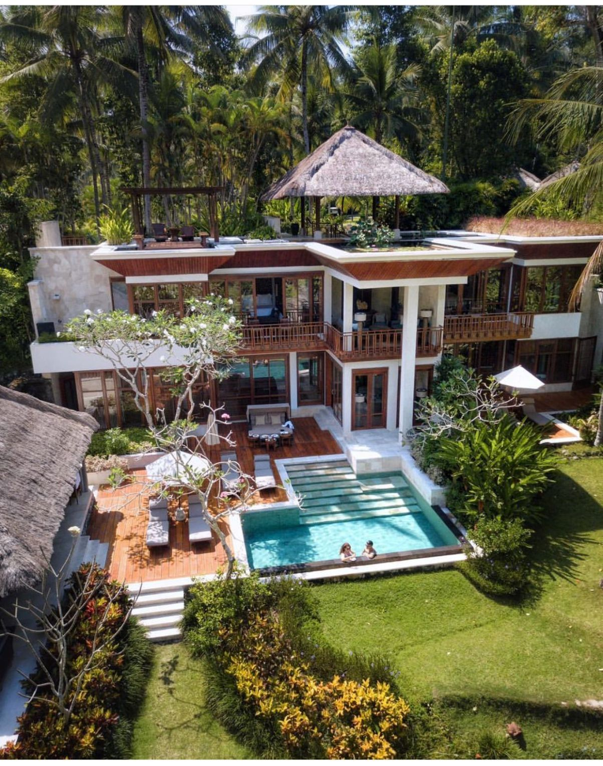 Four Seasons Resort Sayan Ubud, Bali | Dream home design, House ..