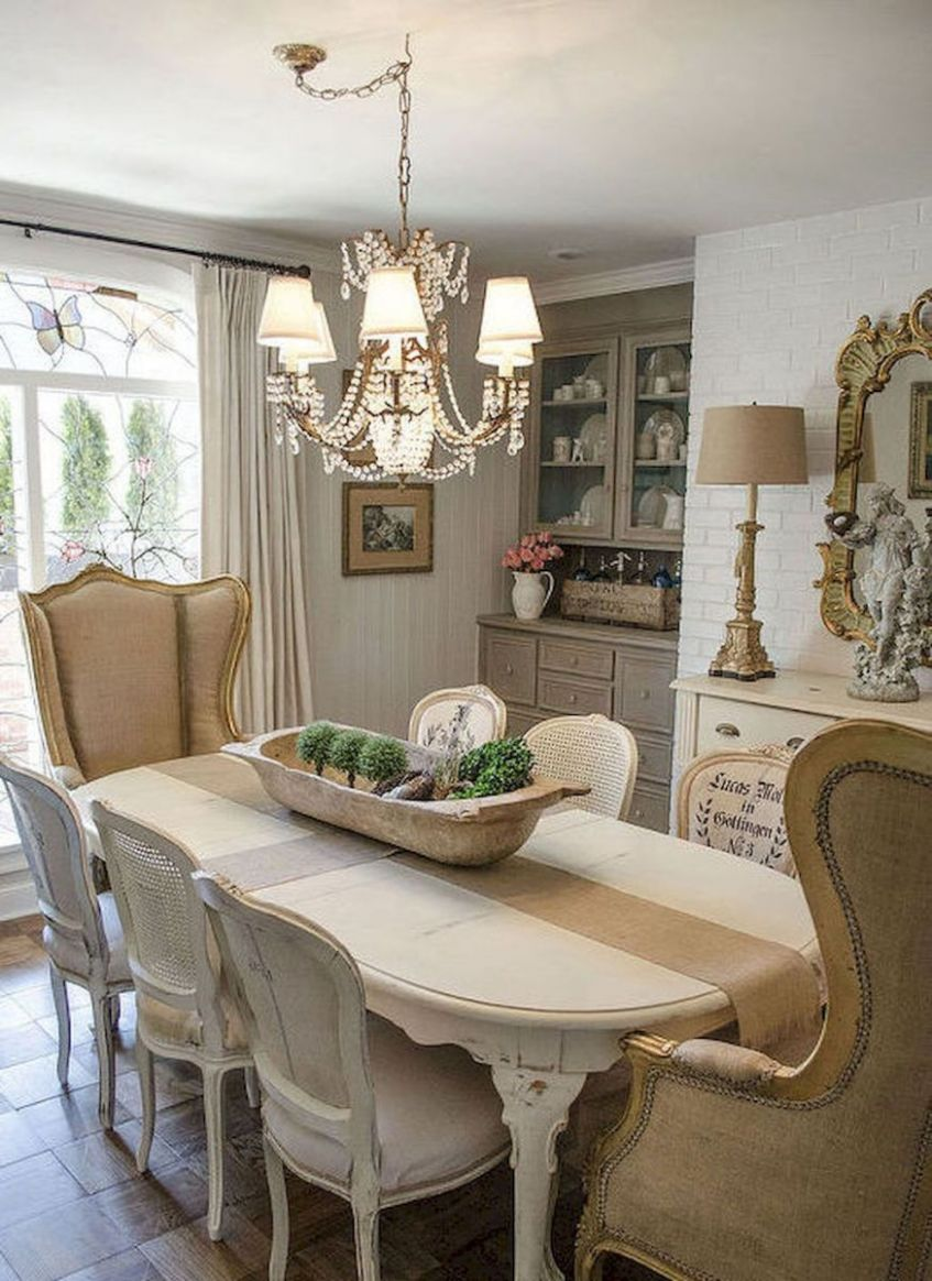 French Country Dining Room Decor Ideas (9) | French country ...