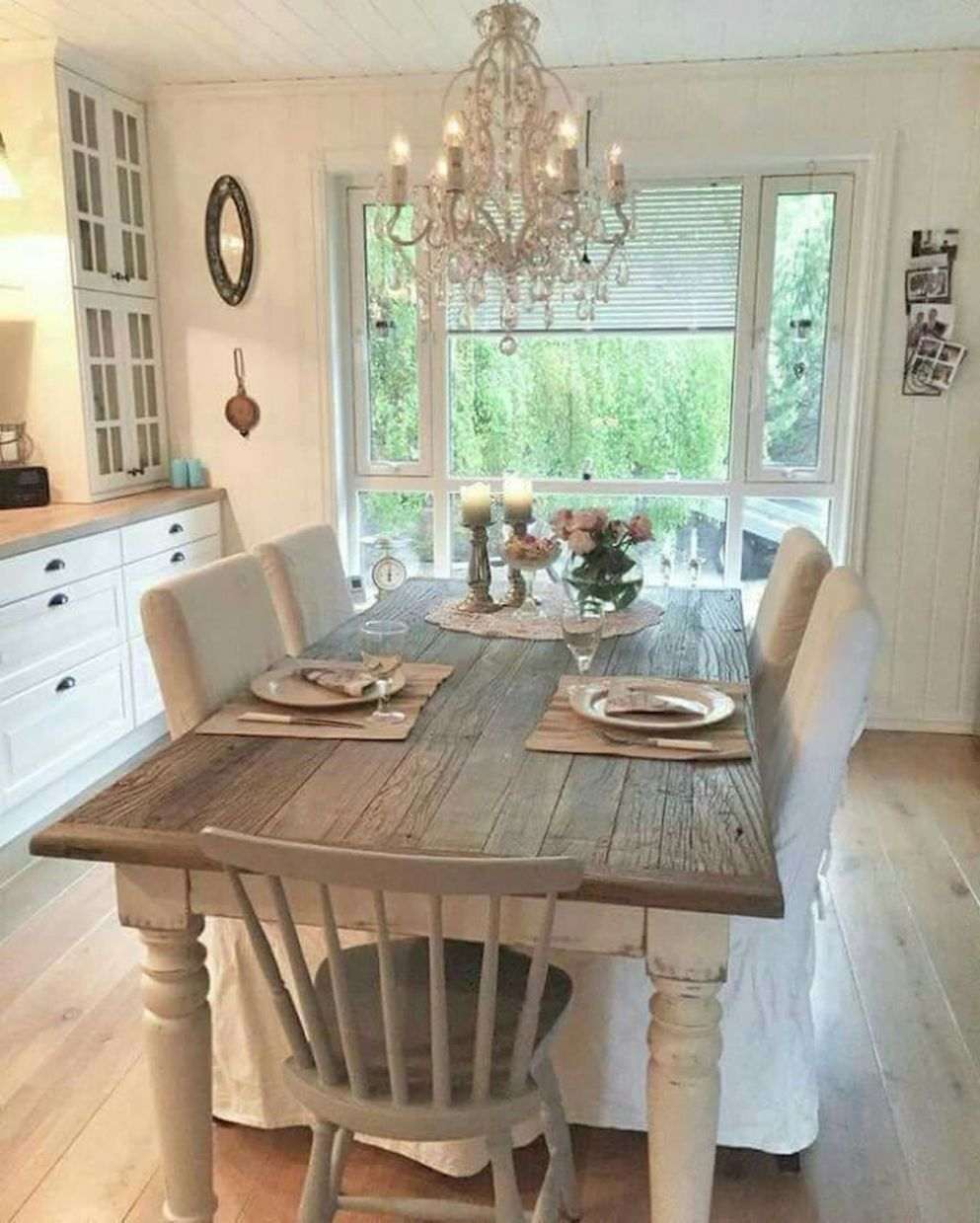 French Country Dining Room Table and Decor Ideas (9 | Bauernhaus ..
