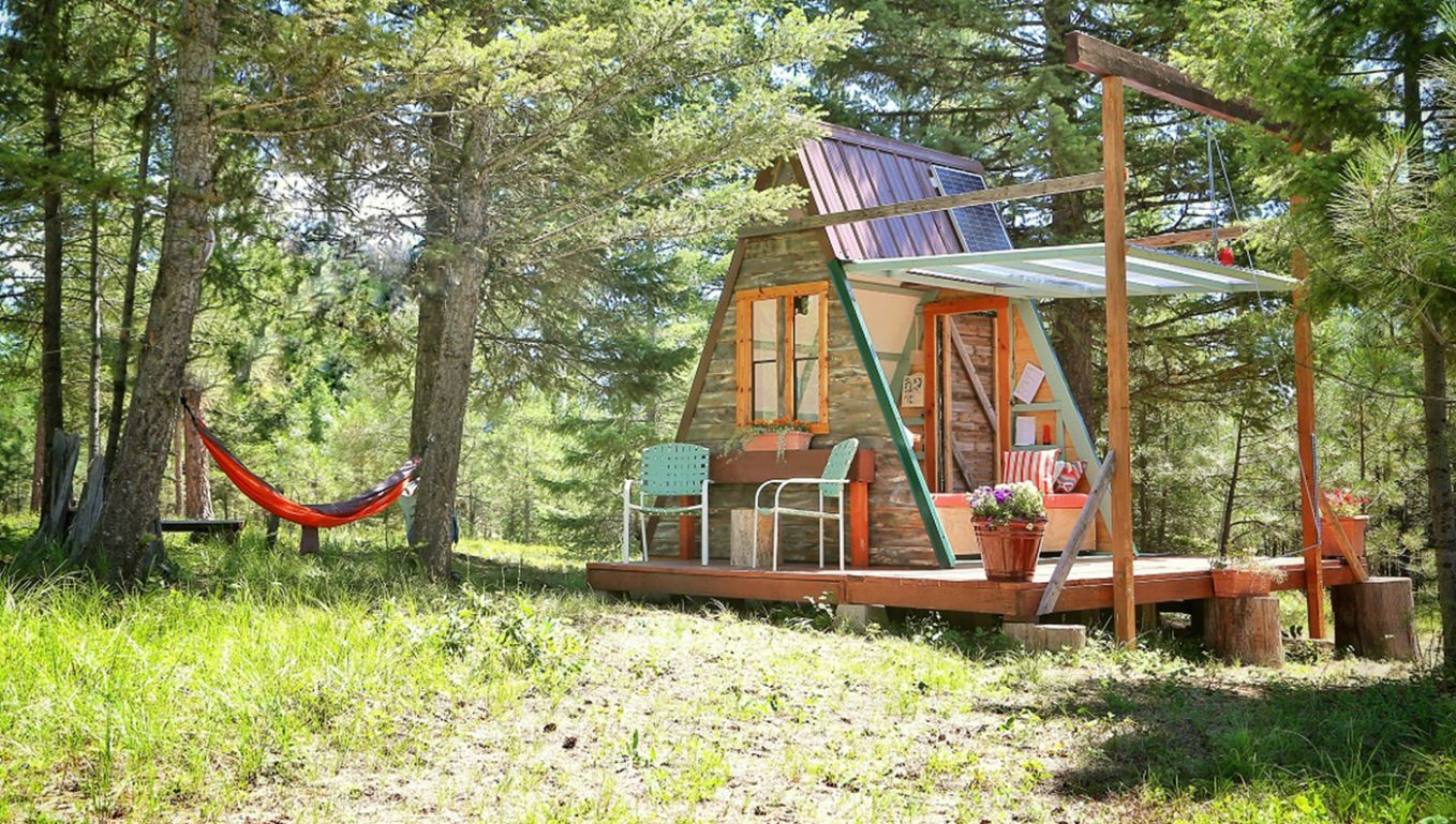 From Scraps to Sanctuary: A $11 A-Frame Cabin
