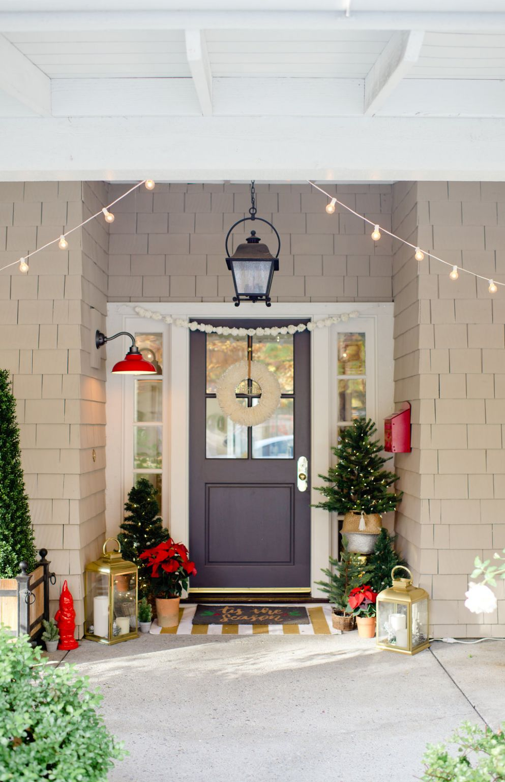Front Porch Decorating Ideas: 12 months of Inspiration - Modern Glam