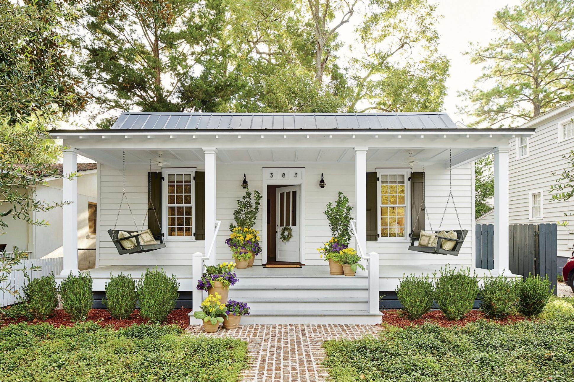 Front Porch Decorating Ideas for an Inviting Entry | Southern Living