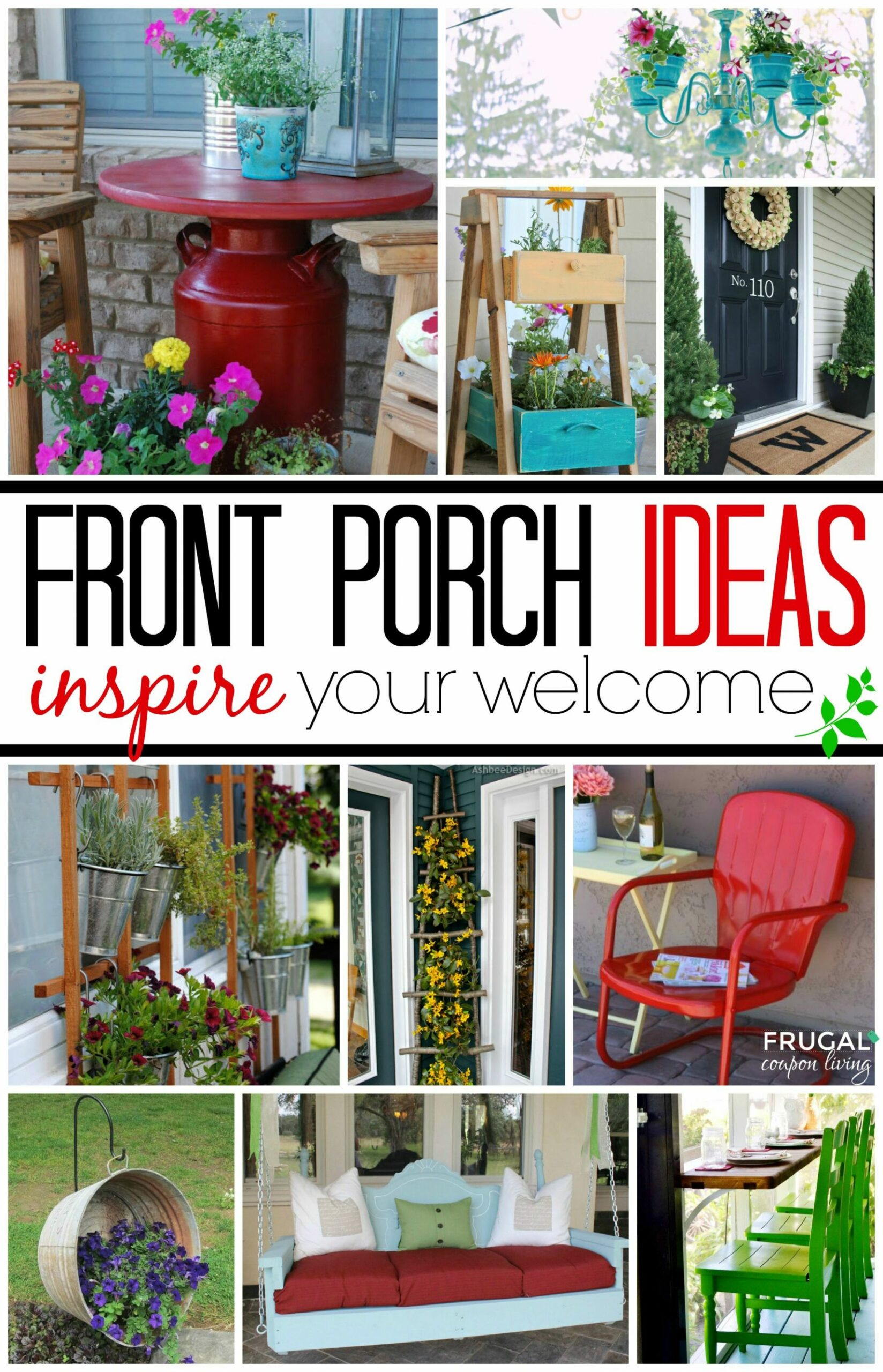 Front Porch Ideas | Home, garden, Front porch, Porch decorating - front porch ideas diy