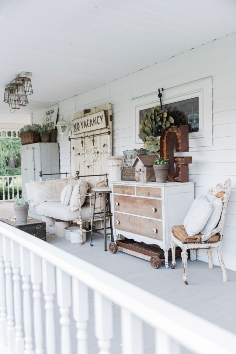 Front Porch Ideas That You Will Fall In Love With! | Eighteen9