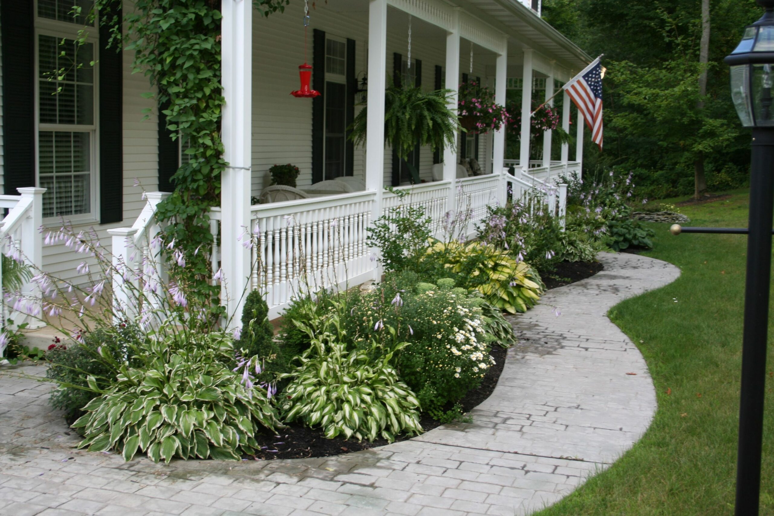 front porch landscape - Yahoo Image Search Results | Front porch ...