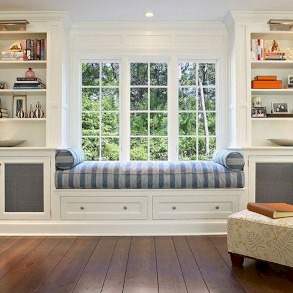 Fully Comfortable Bay Window Seating Ideas - Elonahome